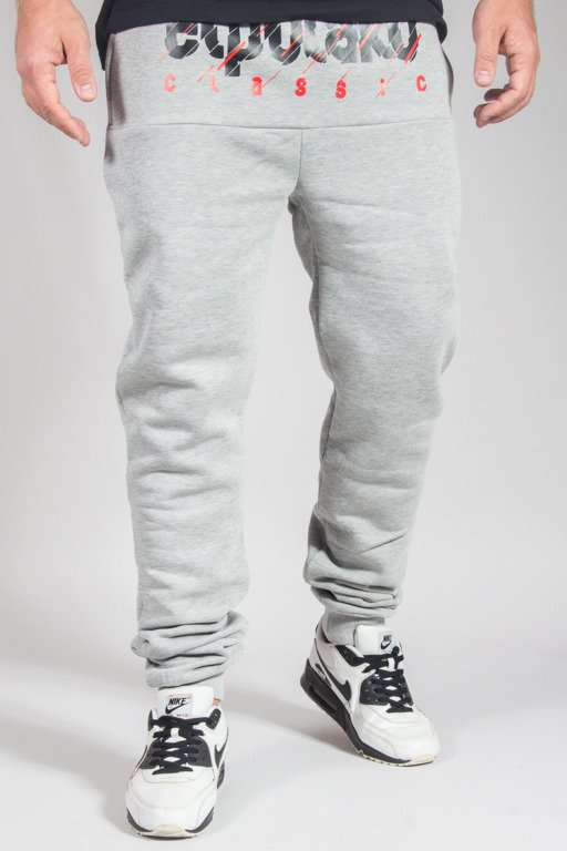 EL POLAKO SWEATPANTS CLASSIC CUT MELANGE