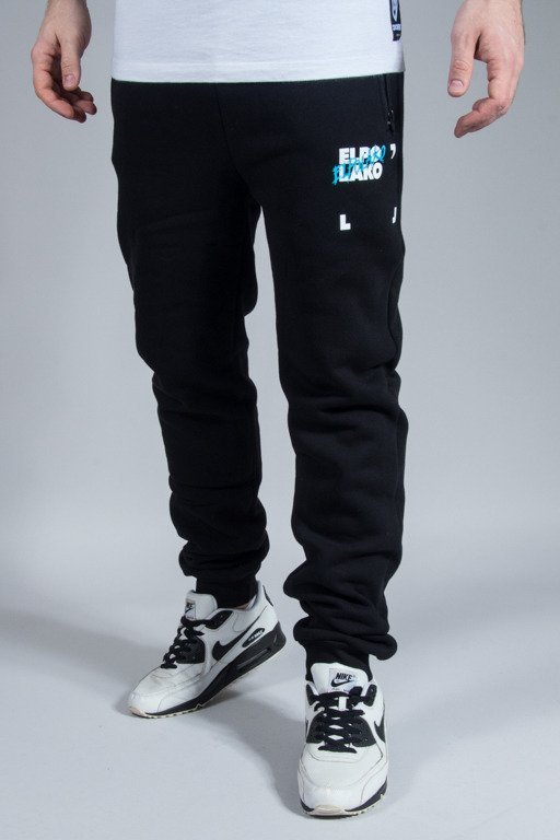EL POLAKO SWEATPANTS ELPO BLM FIT BLACK