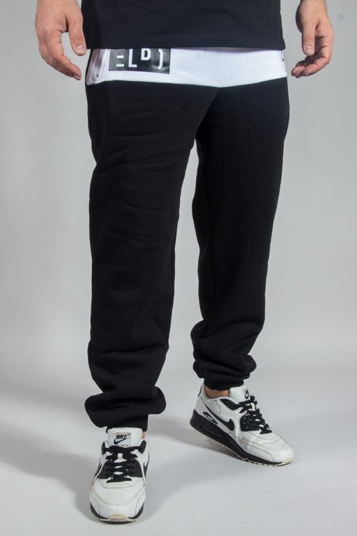 EL POLAKO SWEATPANTS EP OX BALCK