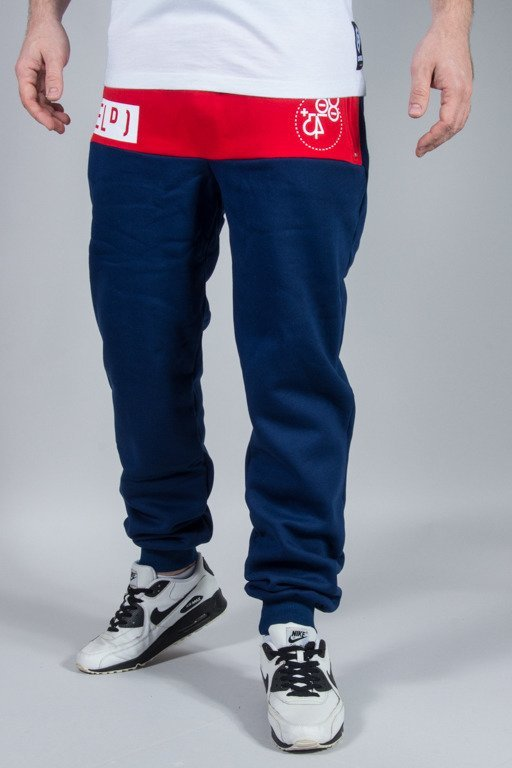 EL POLAKO SWEATPANTS EP OX  NAVY