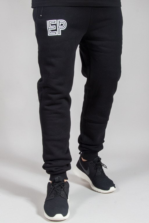 EL POLAKO SWEATPANTS FIT EP LABIRYNT BLACK