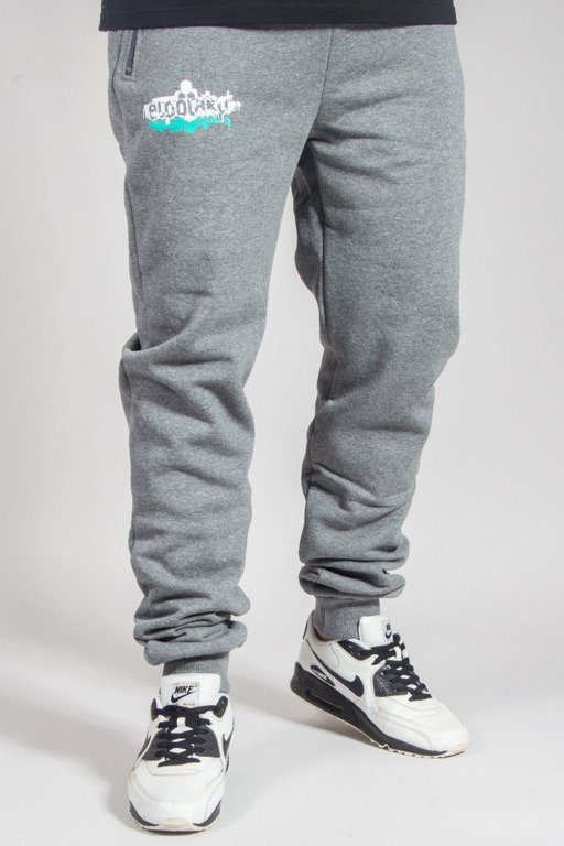 EL POLAKO SWEATPANTS FIT EP_PAINTS GREY