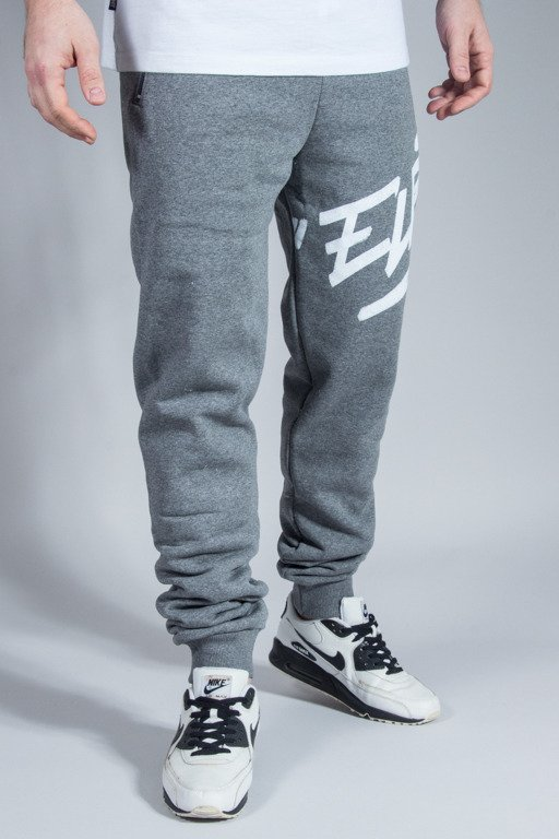 EL POLAKO SWEATPANTS FIT LOGSON GREY