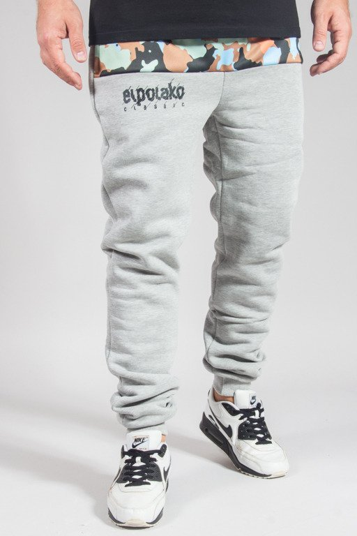 EL POLAKO SWEATPANTS FIT MORO 08 CUT MELANGE