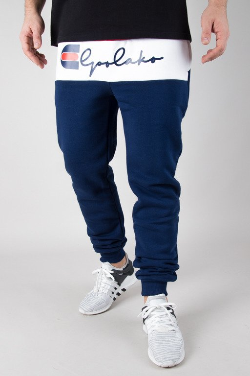 EL POLAKO SWEATPANTS FIT NAVY