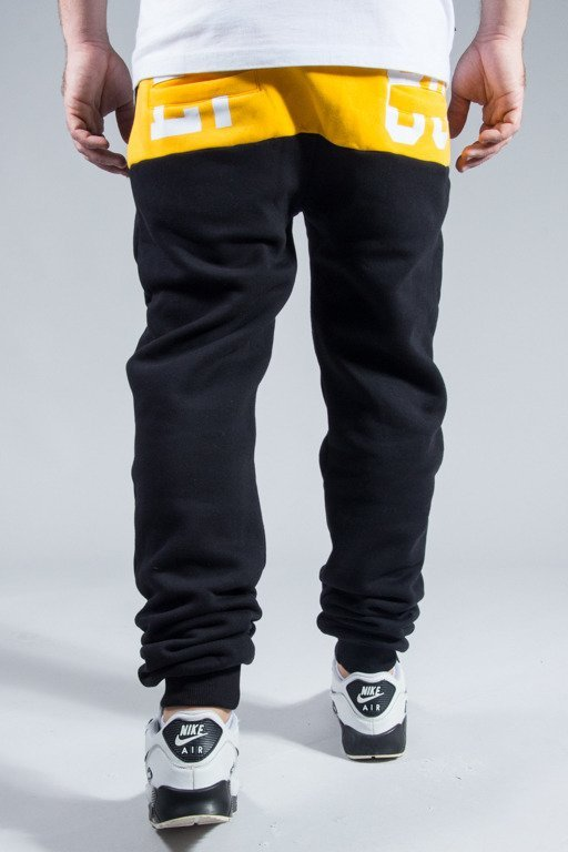 EL POLAKO SWEATPANTS FLAG BLACK