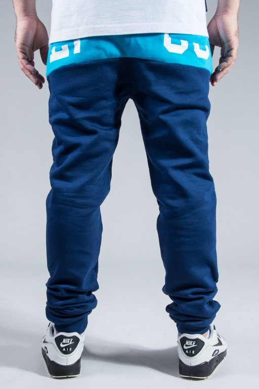 EL POLAKO SWEATPANTS FLAG NAVY