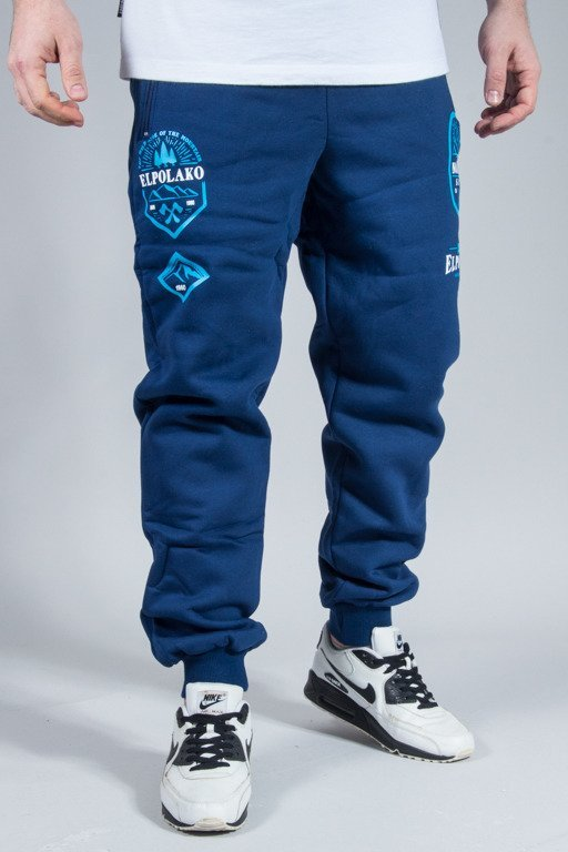 EL POLAKO SWEATPANTS GÓRY NAVY