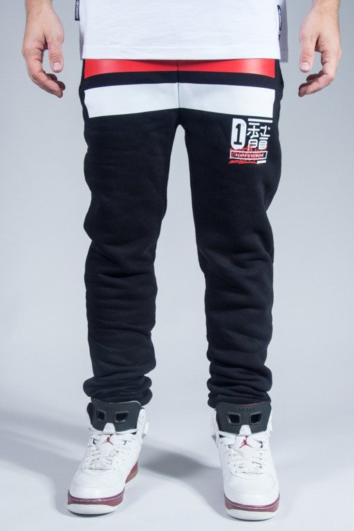 EL POLAKO SWEATPANTS JAPAN BLACK