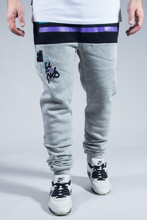 EL POLAKO SWEATPANTS NUMBER MELANGE
