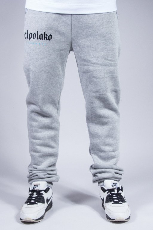 EL POLAKO SWEATPANTS OLD CLASSIC MELANGE