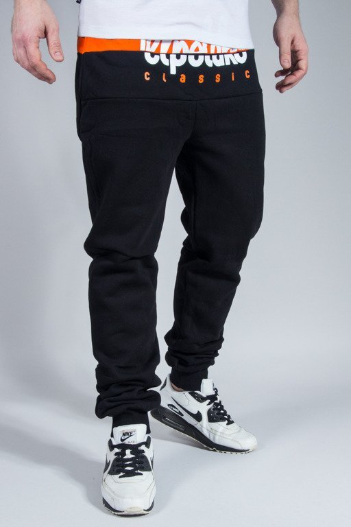 EL POLAKO SWEATPANTS PREMIUM CUT LOGO BLACK