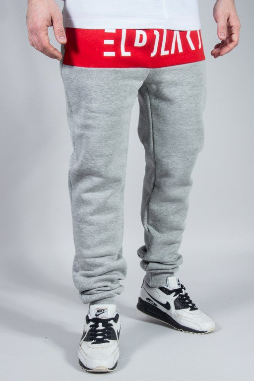 EL POLAKO SWEATPANTS PREMIUM CUT MELANGE