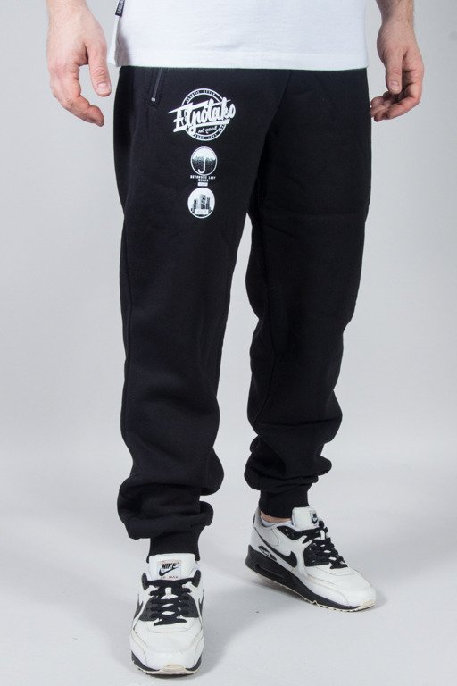 EL POLAKO SWEATPANTS PREMIUM STYLE BLACK
