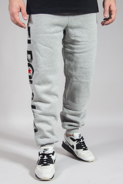 EL POLAKO SWEATPANTS REGULAR LINE EP MELANGE
