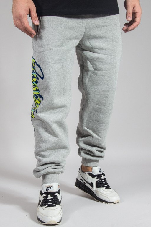 EL POLAKO SWEATPANTS REGULAR WRITTEN CLASSIC MELANGE