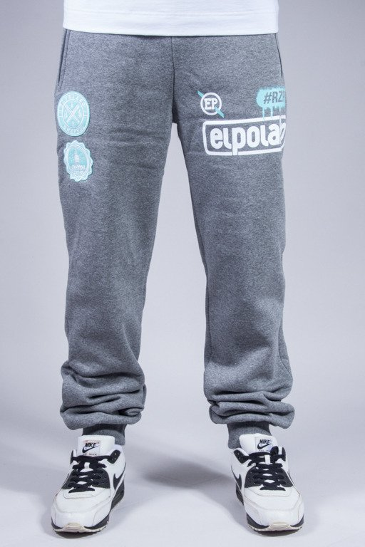 EL POLAKO SWEATPANTS #RZPRDL GREY