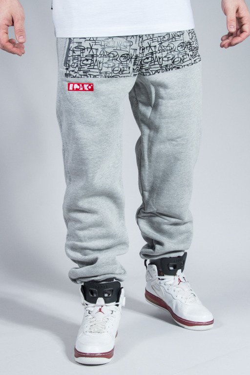 EL POLAKO SWEATPANTS TAGS MELANGE
