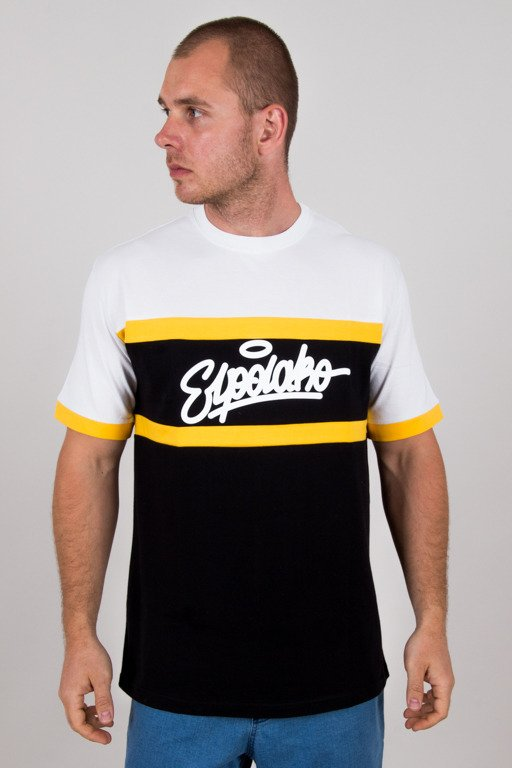 EL POLAKO T-SHIRT 3COLOR CUT BLACK-WHITE