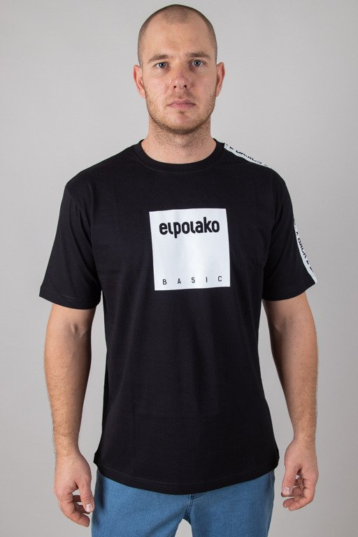 EL POLAKO T-SHIRT BOX STYLE BLACK
