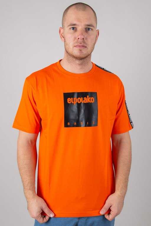 EL POLAKO T-SHIRT BOX STYLE ORANGE