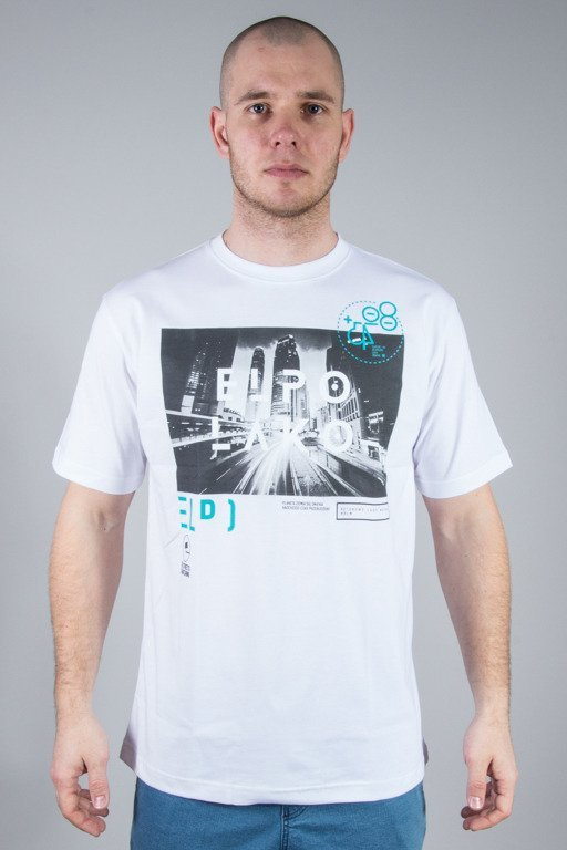 EL POLAKO T-SHIRT CITY 80 WHITE