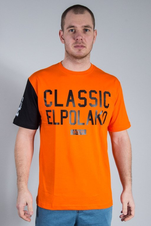 EL POLAKO T-SHIRT CLASSIC ORANGE