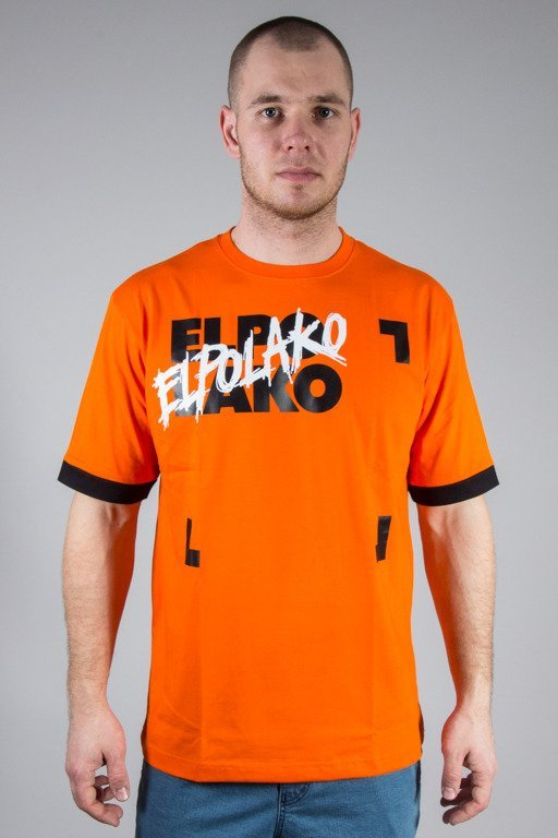 EL POLAKO T-SHIRT EL PO BLM ORANGE