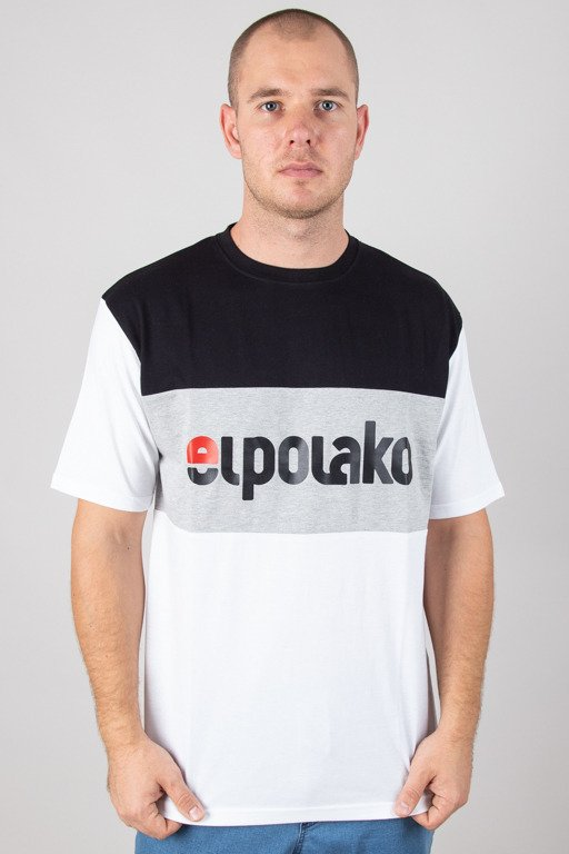 EL POLAKO T-SHIRT ELPO NEW WHITE