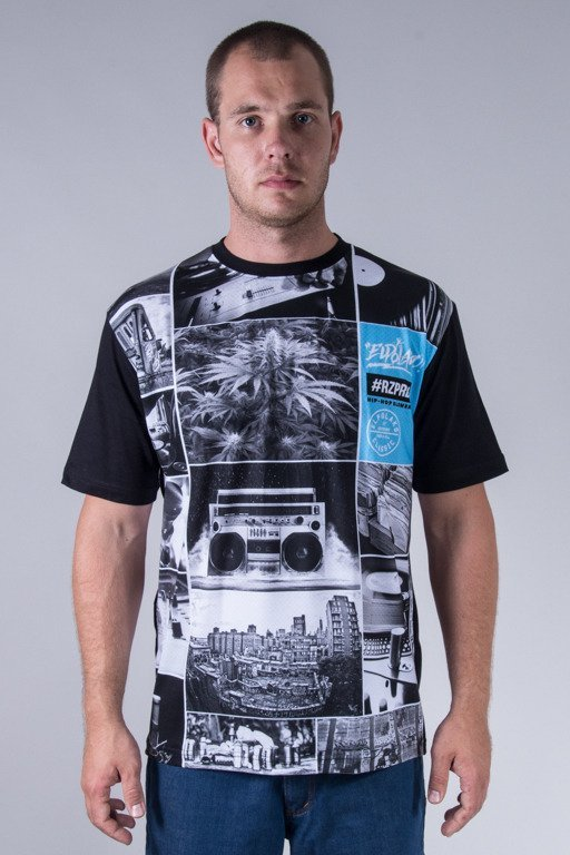 EL POLAKO T-SHIRT HIP HOP ELEMENTS BLACK