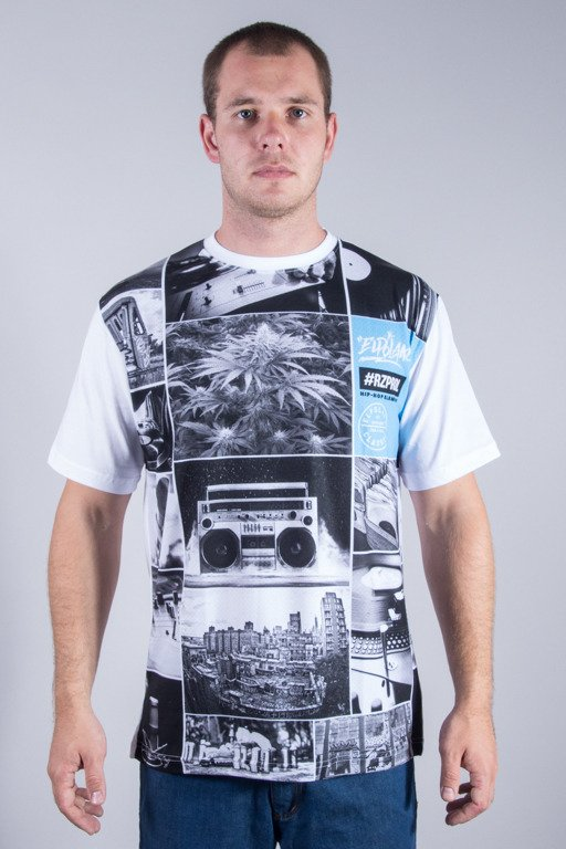 EL POLAKO T-SHIRT HIP HOP ELEMENTS WHITE