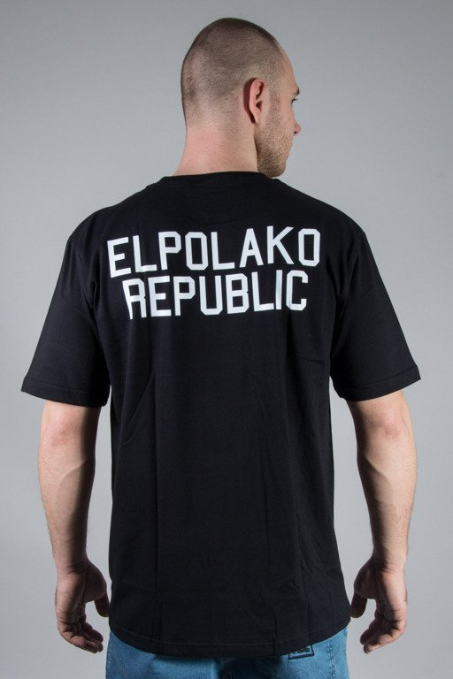 EL POLAKO T-SHIRT MINI REPUBLIC BLACK