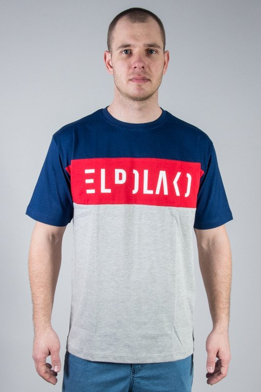 EL POLAKO T-SHIRT PREMIUM CUT NAVY