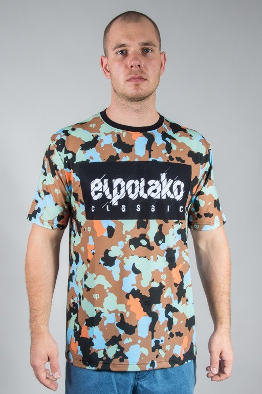 EL POLAKO T-SHIRT PREMIUM SUBLIMACJA MORO 08 BLACK