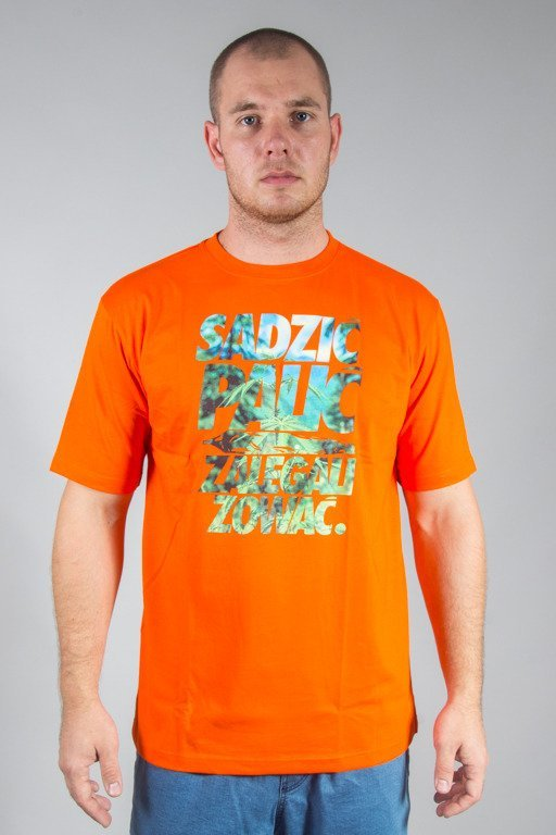 EL POLAKO T-SHIRT SADZIĆ ORANGE