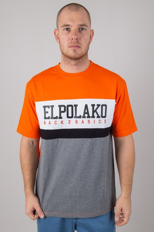 EL POLAKO T-SHIRT SCHOOL ORANGE