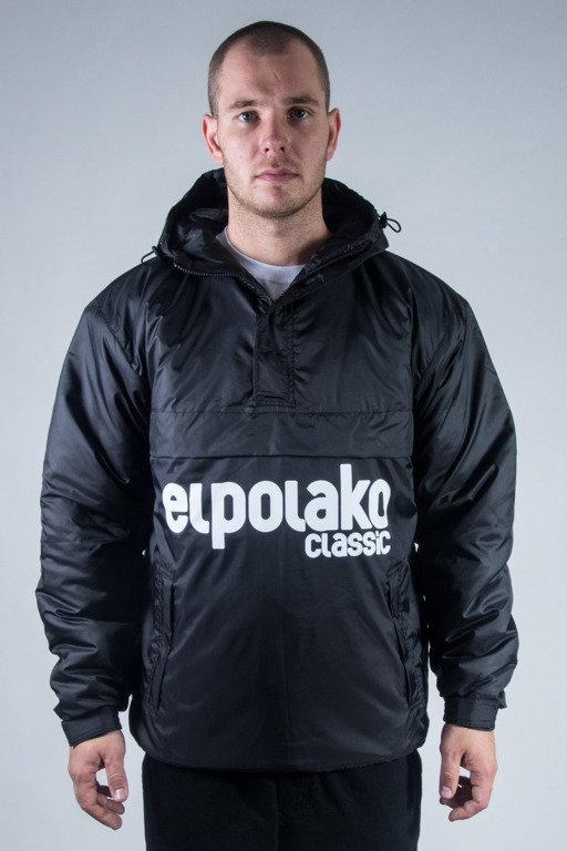 EL POLAKO WINTER JACKET FLYERS KANGURKA CLASSIC BLACK