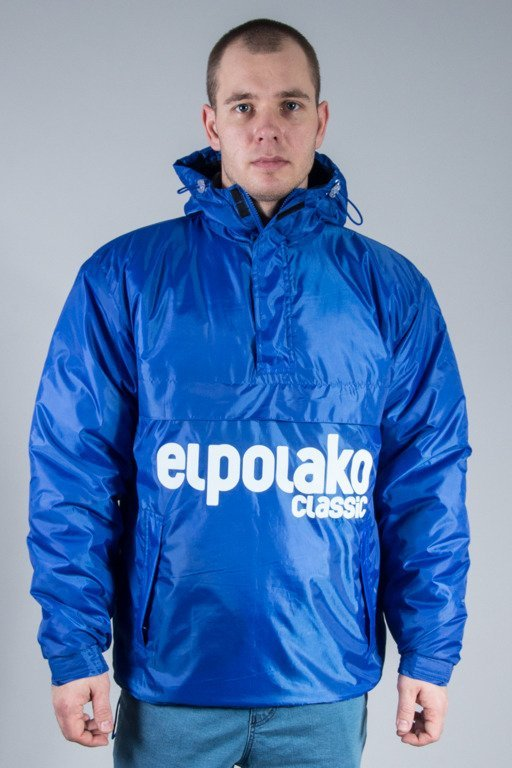 EL POLAKO WINTER JACKET FLYERS KANGURKA CLASSIC BLUE