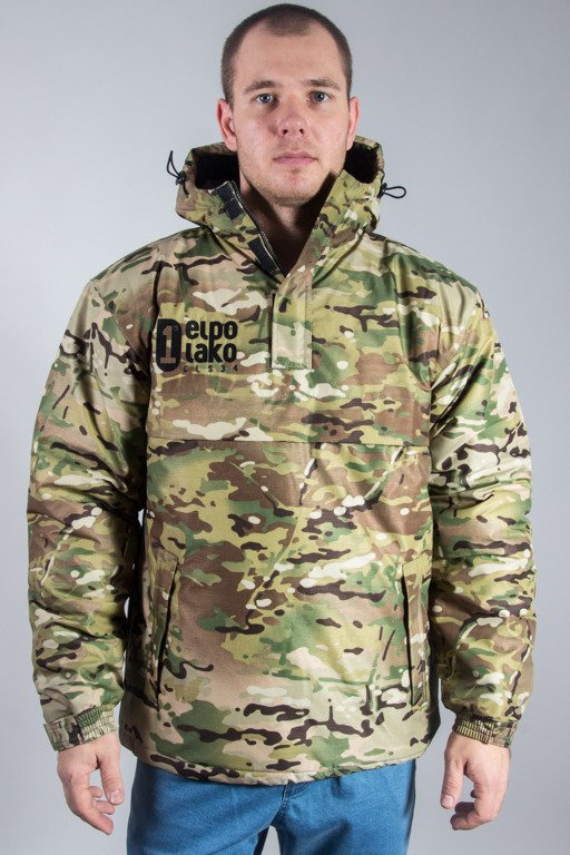 EL POLAKO WINTER JACKET FLYERS KANGURKA CLASSIC CAMO