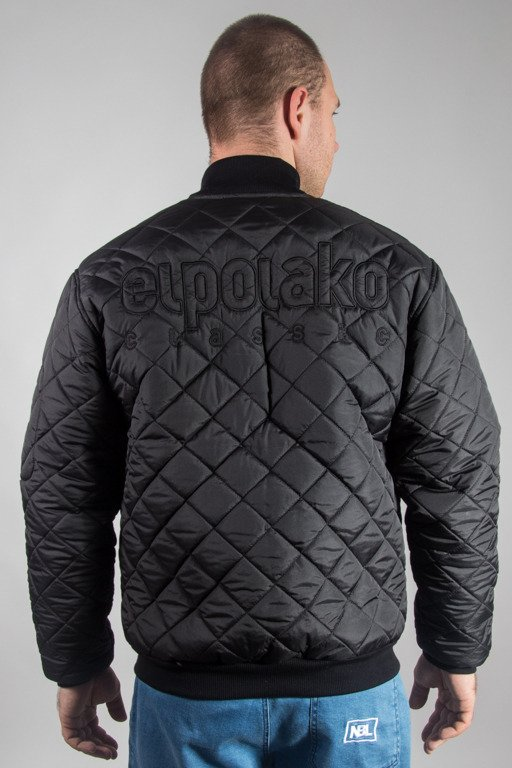 EL POLAKO WINTER JACKET ZIP FLYER CLASSIC BLACK