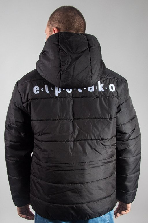 EL POLAKO WINTER JACKET ZIP NORTH BLACK