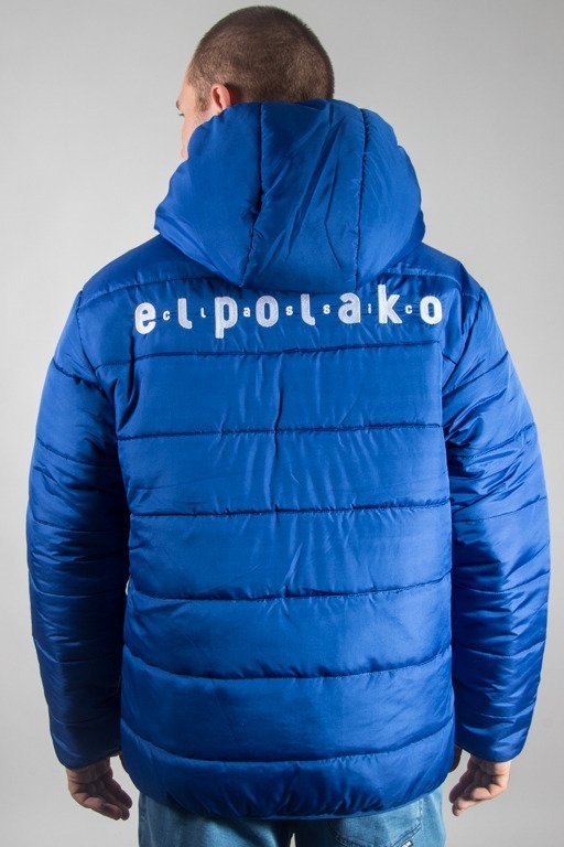 EL POLAKO WINTER JACKET ZIP NORTH BLUE
