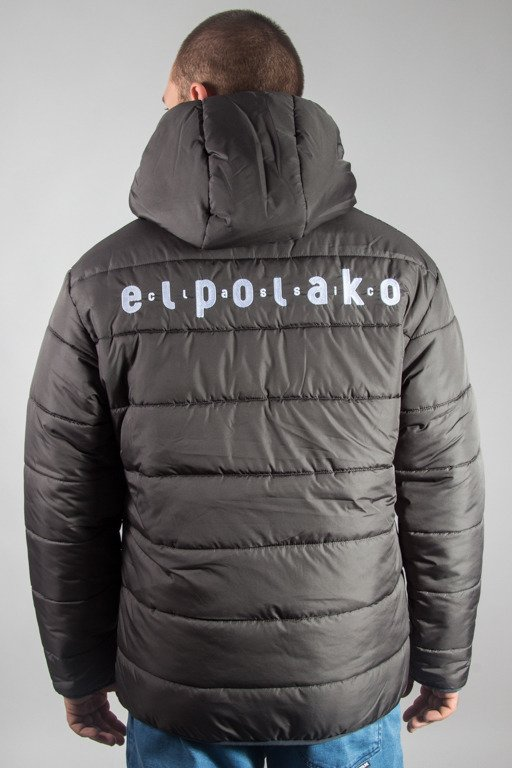 EL POLAKO WINTER JACKET ZIP NORTH GREY