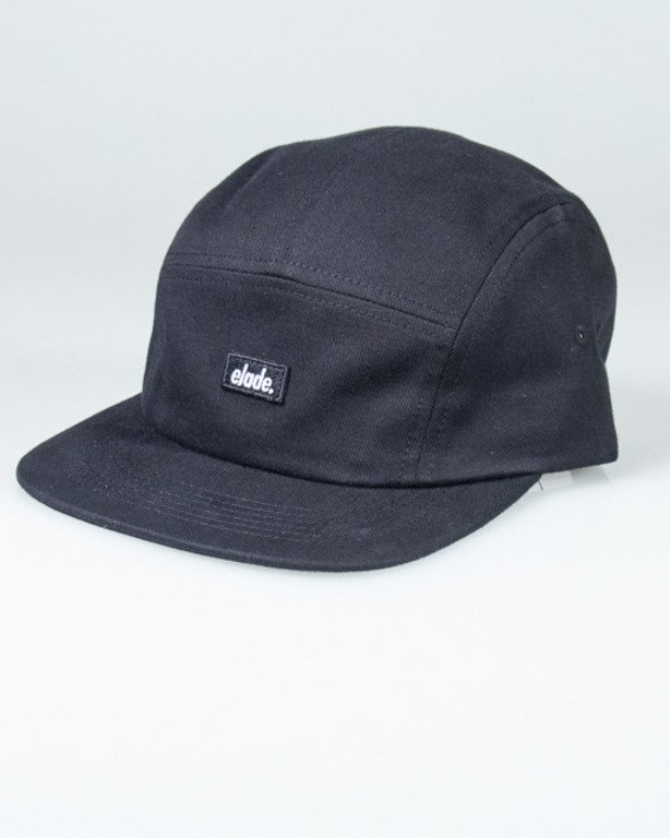 ELADE CAP 5PANEL BLACK