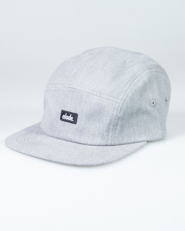 ELADE CAP 5PANEL GREY