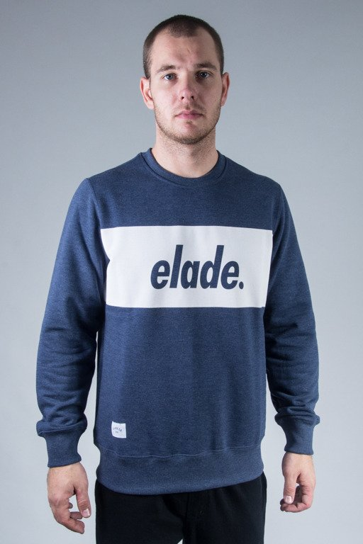 ELADE CREWNECK BOX NAVY