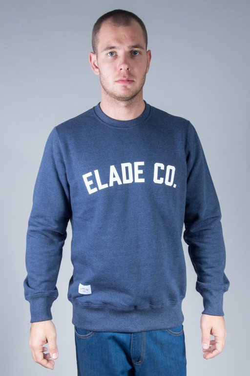 ELADE CREWNECK COLLAGE NAVY