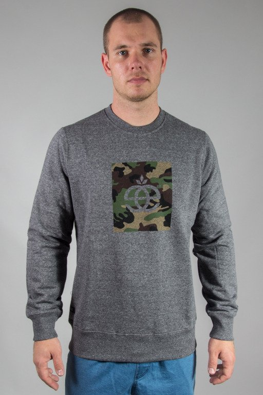 ELADE CREWNECK ICON CAMO PEPPER