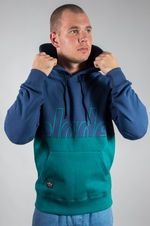 ELADE HOODIE TWO COLORS NAVY