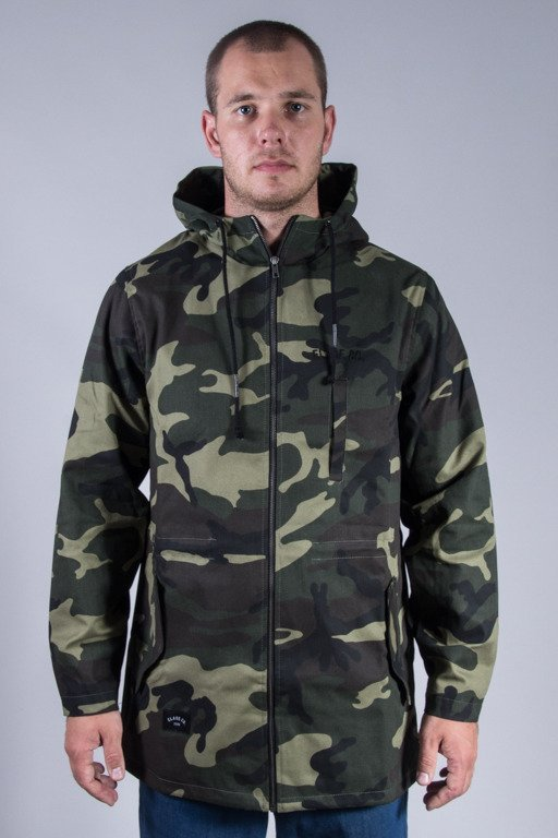 ELADE JACKET ELADE CO. PARKA CAMO